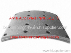 brake lining WVA:19932 BFMC:SV/41/2,truck brake liner,low price brake lining,heavy duty truck vehicle brake parts