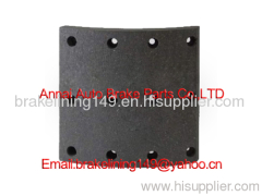 brake lining WVA:19938,BFMC:VL/ 87/1,volvo brake liner,resin brake lining,oem brake lining,automobile brake parts
