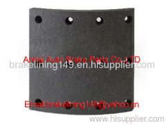 brake lining WVA:19939,BFMC:VL/ 88/1,heavy vehicle brake parts,high quality brake lining,truck brake accessory