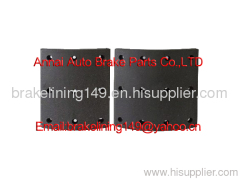 Brake Linings (WVA:19562,BFMC:VL/76/1),friction lining,flat head rivet,drum brake liner,heavy vehicle brake parts