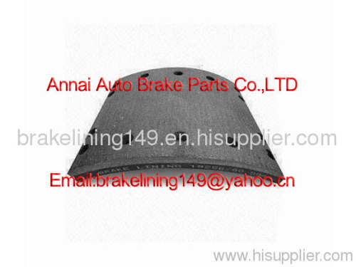 brake lining WVA19256,brake lining BFMC: DF/16/2,Auwarter brake lining,Bova brake lining,drum brake liner