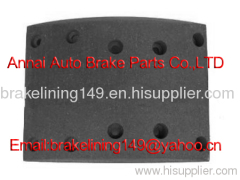brake lining FMSI:4656 ANC CAM,mercedes brake parts,asbestos free brake lining,bus brake lining