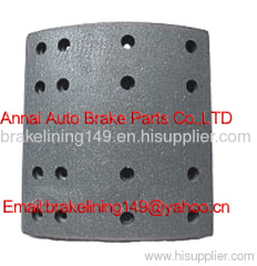 brake lining FMSI4644-A ANC CAM,asbestos free brake lining,trailer brake parts,drum brake liner