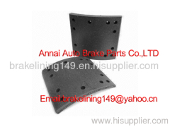auto brake part/heavy duty spare /asbestos free brake lining