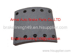 brake lining WVA:19032,BFMC:BC/36/1,brake drum liner,brake drum lining,bus brake parts,volvo brake liner