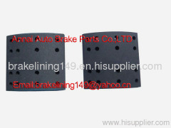 brake lining FMSI4515-E CAM ANC,drum linings,car brake lining,automobile brake parts,oem brake lining
