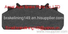 Brake pad WVA:29126&29141&29159,BRAKE PERROT-WABCO&GIGANT&SAF- SAUER&DAF&RENAULT V.I.