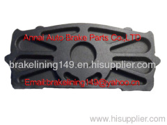 Brake pad WVA:29115&29116&29148&29183,GIGANT,MAN,MERCEDES-BENZ,SAETA