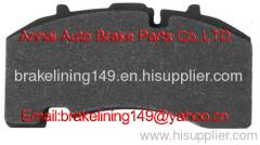 Brake pad WVA:29171,