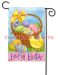Custmos Easter garden flag