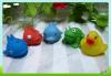 Mini bath toy small rubber animals