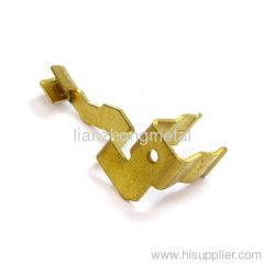 UK Plug Terminal Stamping Parts Metal Stamping manufacturer factory China