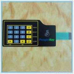 polyester membrane keypad
