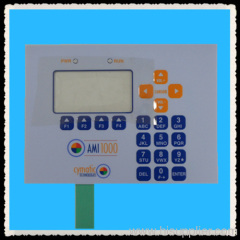emboss membrane keypad for electronic device