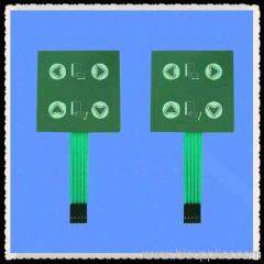 4 buttons membrane keypad switch