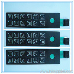 sealed matrix membrane keypad