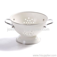 china supplier steel colander 16cm; 23cm; 28cm