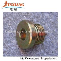 sump plug turning parts