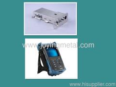 Mechanical parts for telecom testing equipment