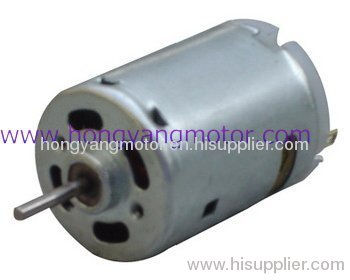 Brush motor hrs 380 from china manufacturer yuyao for Dc motor brushes function