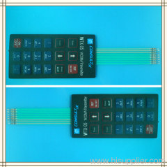 matrix membrane keypad