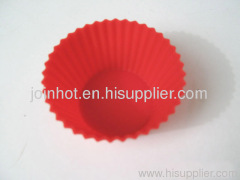 Muffin pan FDA food cup Promotion silicone cake mold 7*3 cm