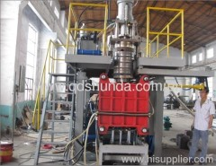 PP hollow blow molding production line