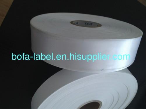 Polyester Satin Label Fabric Satin Ribbon Satin Label Ribbon