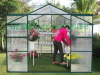aluminium greenhouse, polycarbonate greenhouse