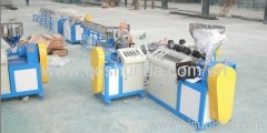 SJ-65 PE Lined Galvanized Steel Pipe making machine plastic machine