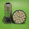 Cool white E27 5W Led Spotlight SMD5050 24leds