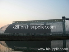 Fuyang Kouzidong Coal Mine Coal Yard Of Barrel Coal Storage