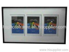 Wooden photo frame ,MDF ,black