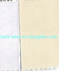 soft TC label tape , polyester cotton printing label fabric