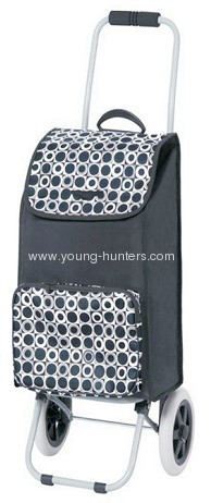folding shopping trolley bags with pocket