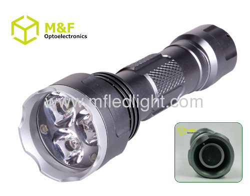 super power flashlight with rechargeable battery