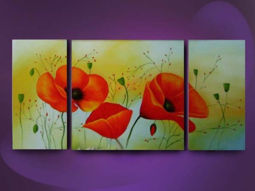 2012 Hot Sell Classic Flowers Oil Paint Gallery Wholesale