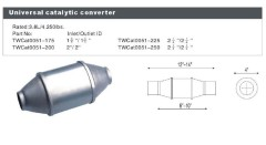 Car Universal Catalytic Converter