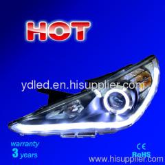 led headlamp with Angel Eyes