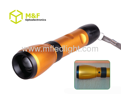 aluminum zoomable rechargeable cree torches