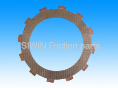Motorcycle friction disc
