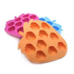 ice cube Strawberry ice trays cool summer ice cube