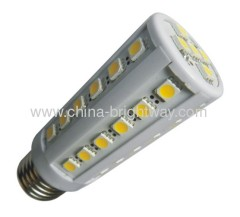 Warm White E27 5W Led Corn Light bulb 55leds SMD5050