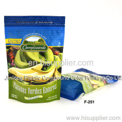 fruit bag with zipper