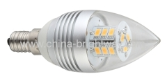 E14 5W C37 Led Candle corn light SMD5630