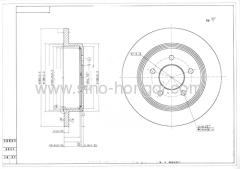 Brake disc 54027