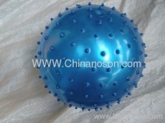 Blue Inflatable ball PVC toy ball Massage Ball