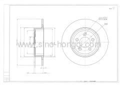 Brake disc 53021