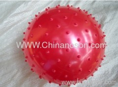 Red Inflatable balls PVC toy ball