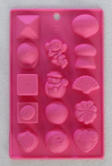Christmas Chocolate Cookie Candy Mold
